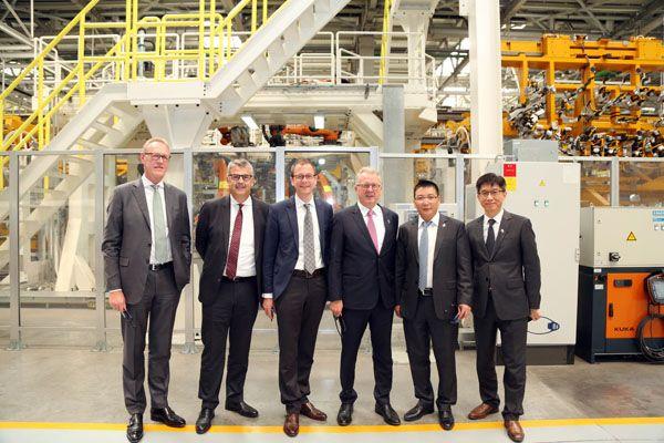 宝沃工业4.0智能工厂即将在德落地