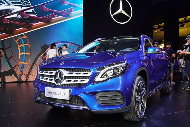 北京奔驰新款GLA上市 售27.18-39.90万元