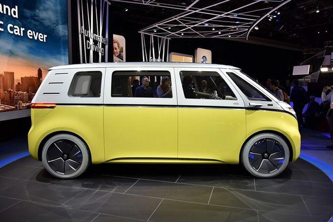 大众I.D.Buzz概念车确定量产 向经典T1致敬