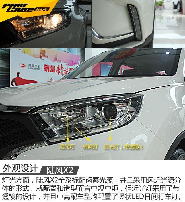 小型SUV的后起新秀 车讯网实拍陆风X2