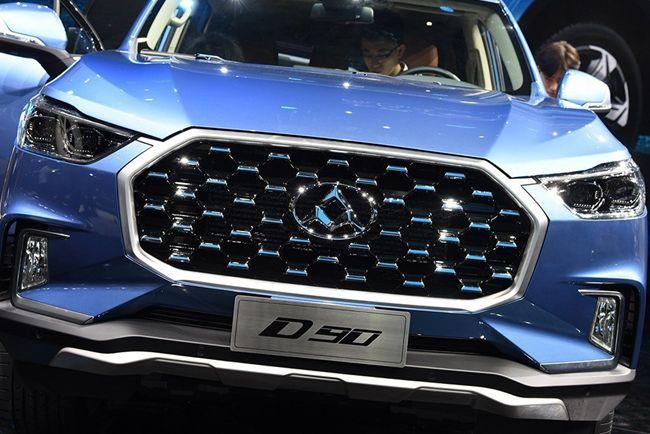 大通D90将于8月8日上市 先期搭2.0T发动机