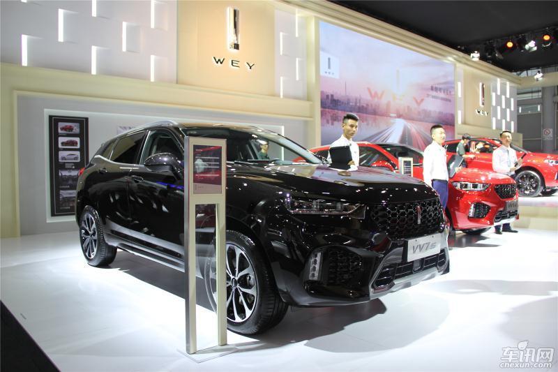 WEY品牌携VV5s与VV7共襄2017成都车展盛举