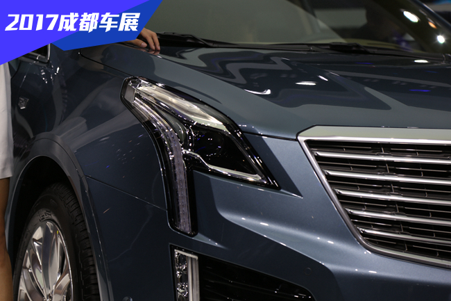 2017成都车展新车图解 凯迪拉克轻混动XT5