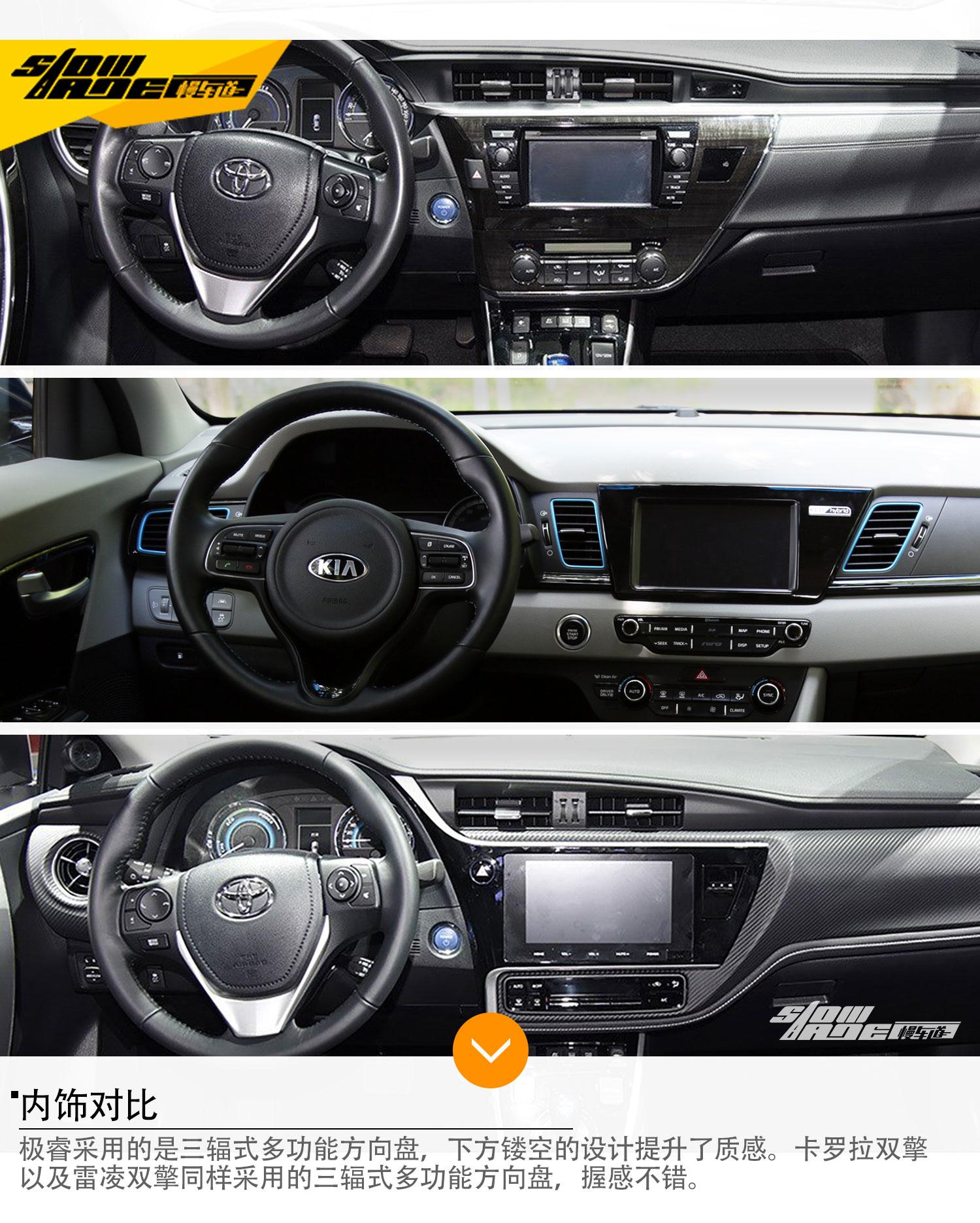 极睿比拟丰田双擎 三款混合动力车型推荐
