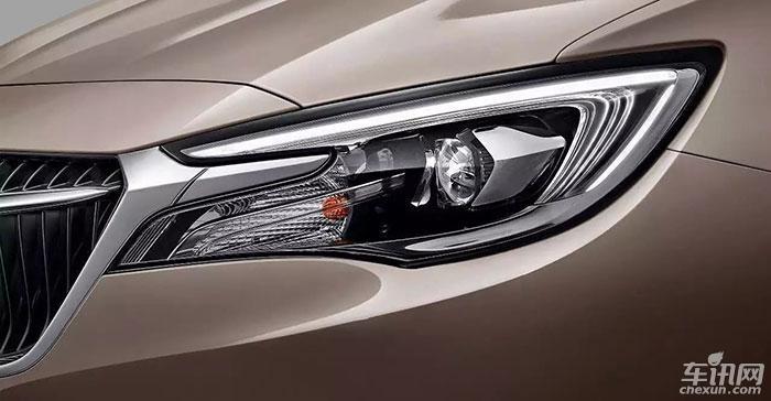 上汽通用别克GL6正式曝光 或将于11月上市
