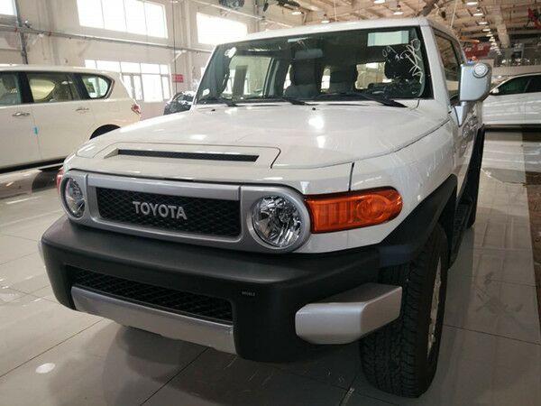 17款丰田酷路泽FJ最新科技完美性能首推