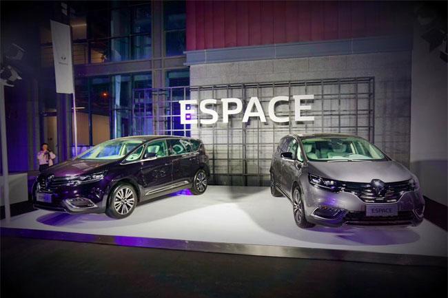 雷诺全新ESPACE正式上市 售价27.18万元起