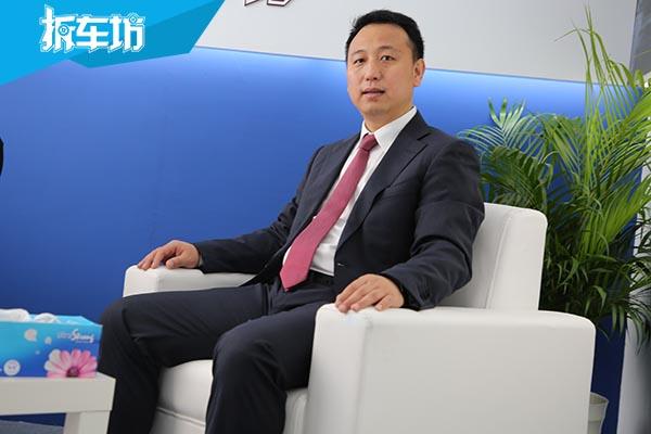 2017广州车展专访一汽奔腾市场部长张建辉