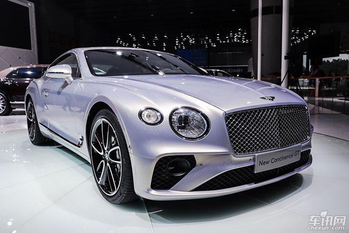 宾利汽车全新欧陆GT广州车展华丽首秀