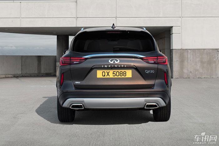 英菲尼迪全新一代QX50首发 或将明年国产
