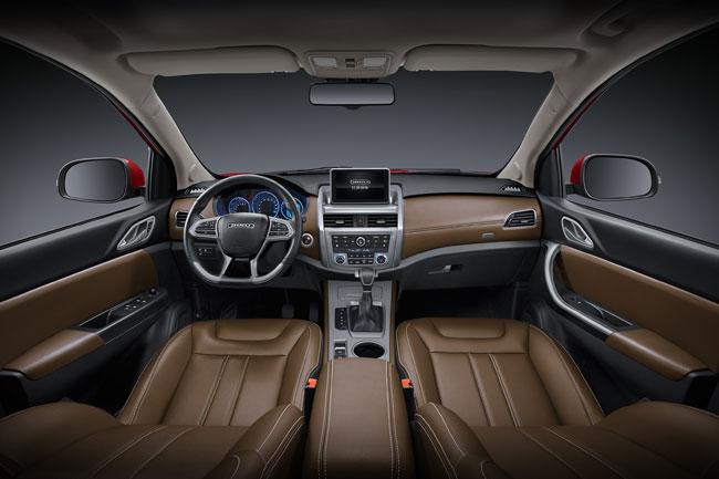 比速7座SUV T5 8AT正式上市 售价9.39万起