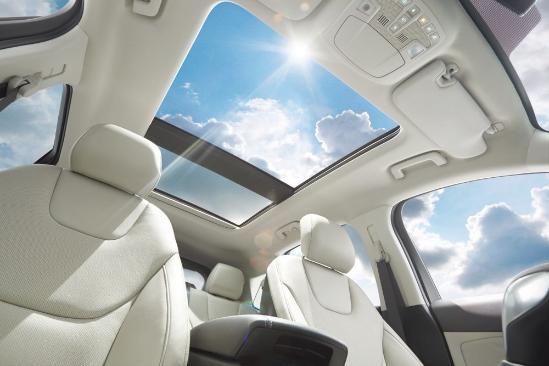 意味着2018款福特锐界EcoBoost 245七座版本车型全部配备全景天窗