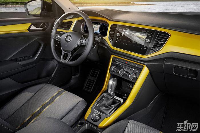 一汽-大众T-Roc量产车路试 2018年7月上市
