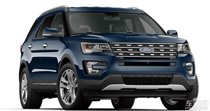 长安福特将产大型豪华SUV 探险者或将国产