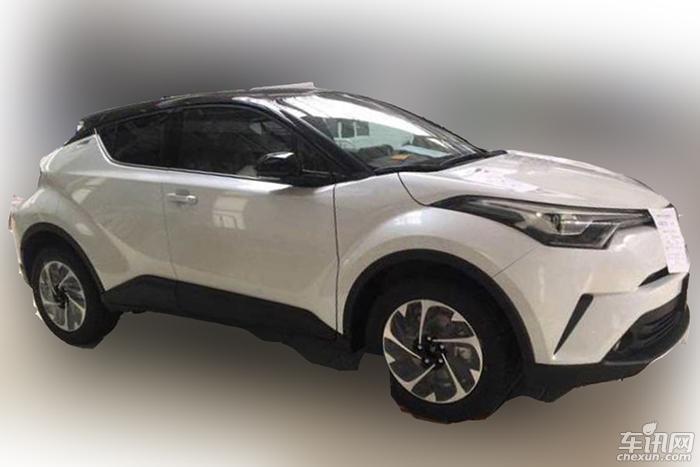 一汽丰田奕泽量产车首次曝光 或将6月上市