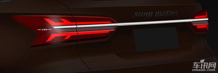 SWM斯威汽车S402路试谍照曝光 下半年上市