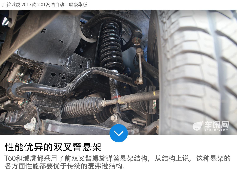 动力&四驱争先赛 上汽大通t60 vs 江铃域虎
