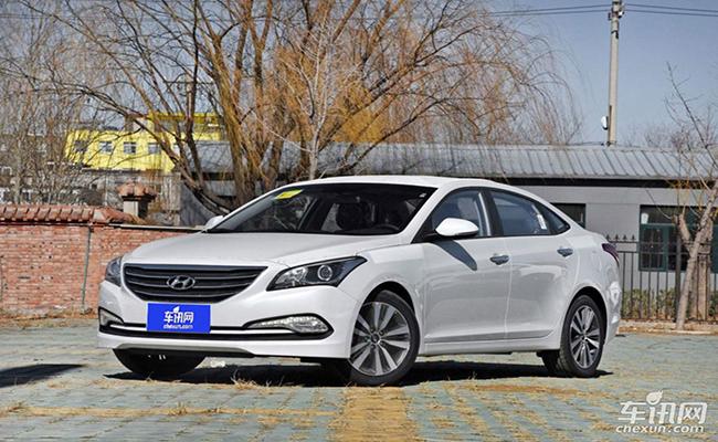 北京现代名图购车优惠2.3万元 现车销售