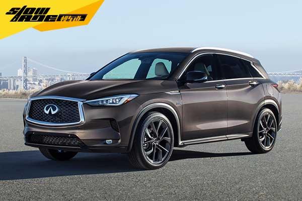 全新英菲尼迪QX50将于北京车展进行中国首秀