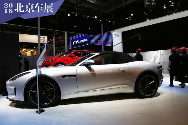 2018北京车展探馆:捷豹F-TYPE P300实车