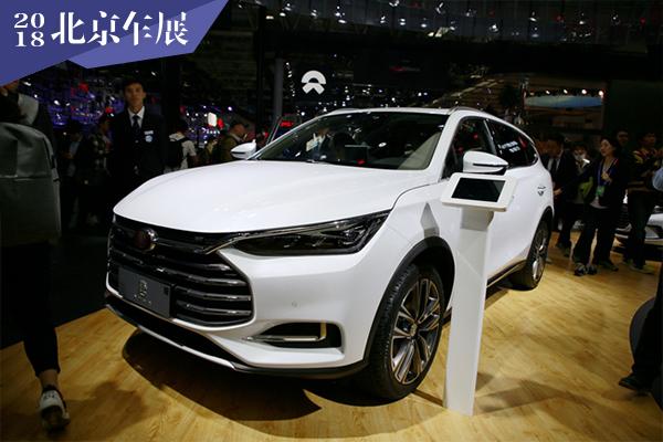 2018北京车展:比亚迪新一代唐燃油版实拍