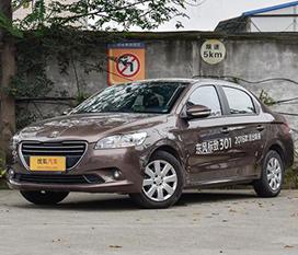 东风标致301优惠1.8万元 现车销售