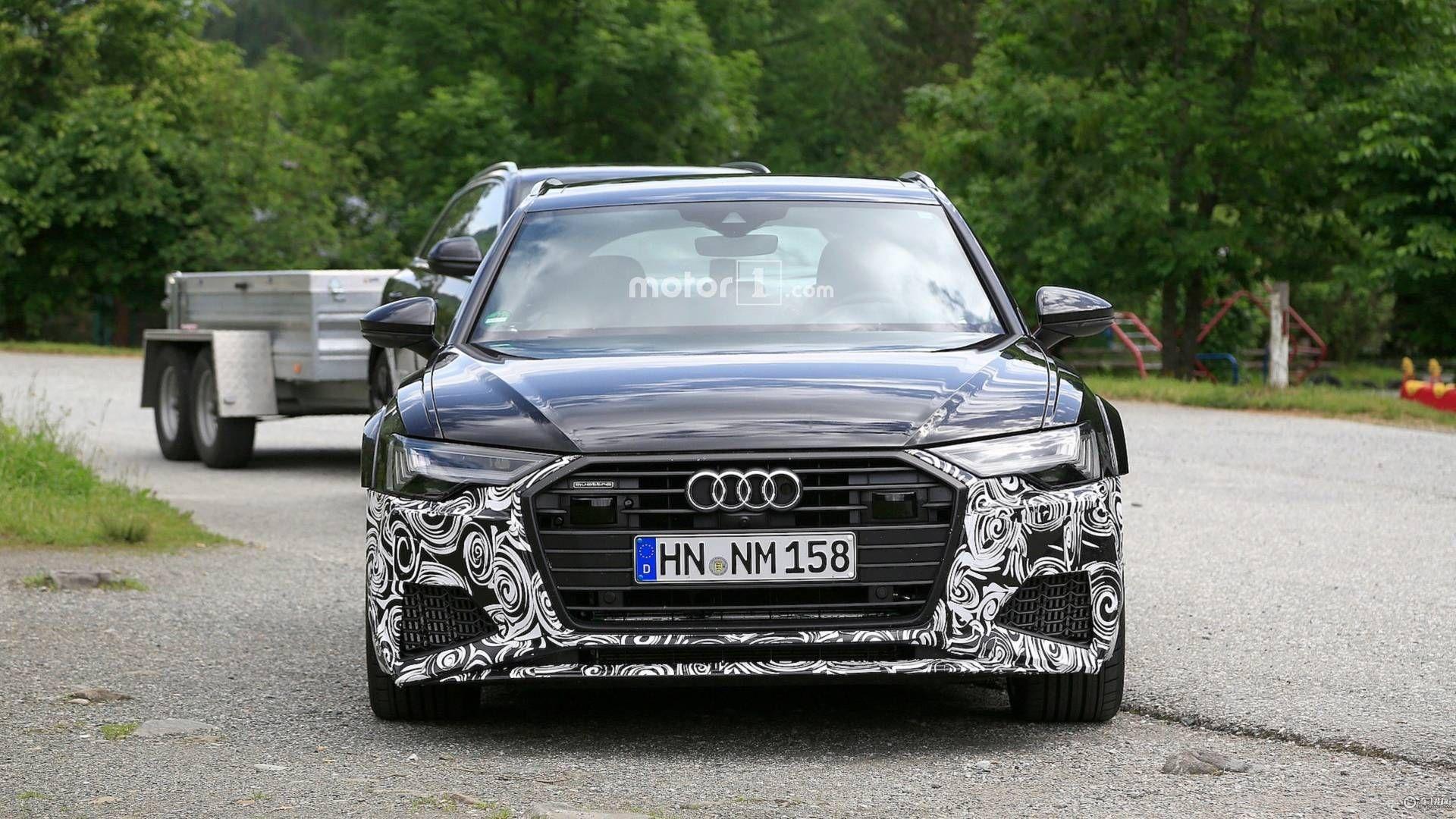 奥迪全新RS 6 Avant谍照曝光 或将明年发布