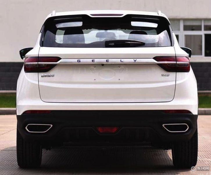 吉利SX11或定名星越 基于BMA乘用车平台打造