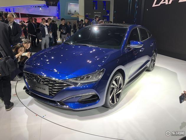 北京现代LAFESTA将于9月上市 搭两款发动机