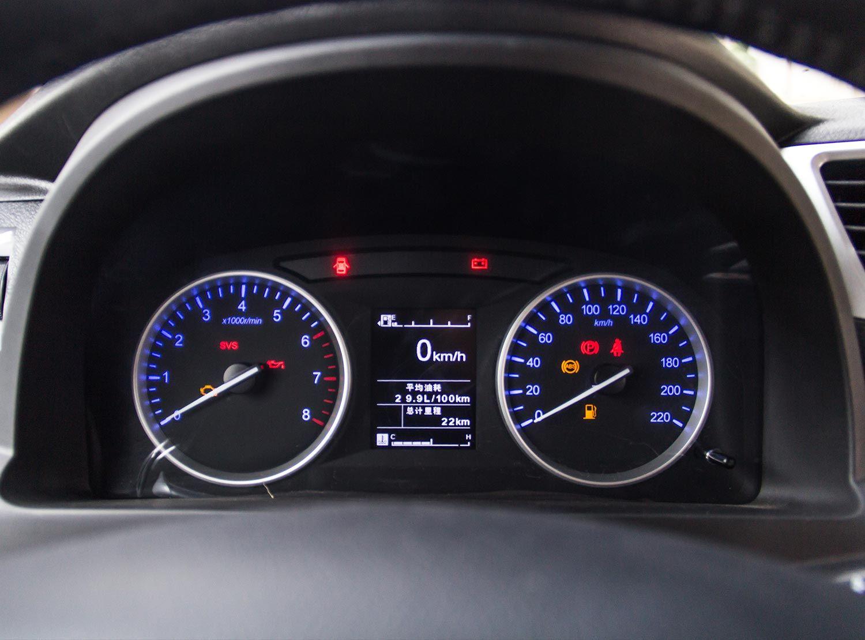静态体验北汽瑞丽道达V8 2.0L手动基本型