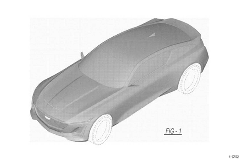 凯迪拉克概念跑车专利图曝光 全新设计语言