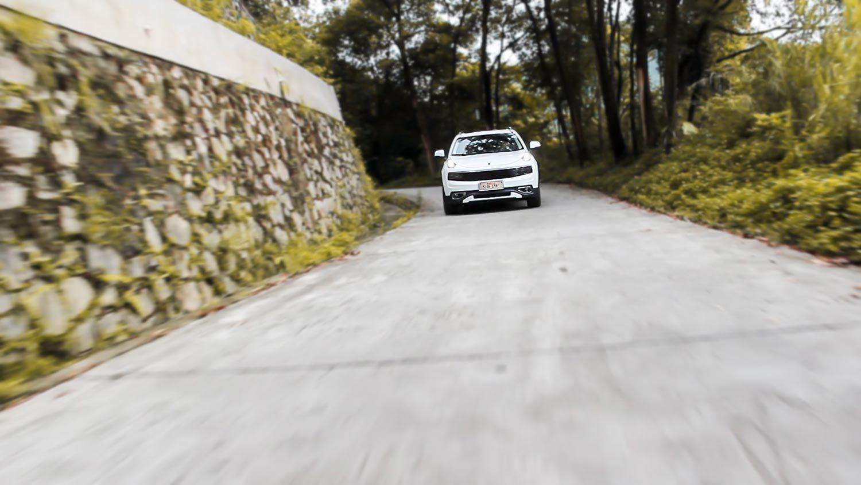 山路小试领克01 2017款 2.0T 两驱型Pro版