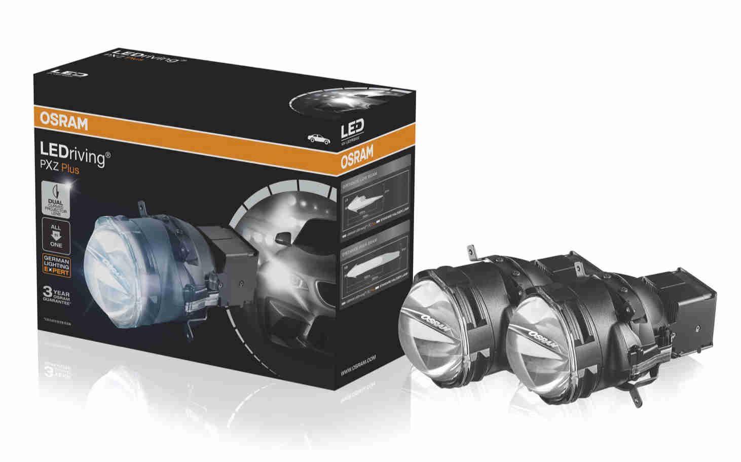 全新欧司朗LED大灯系统魄晓者Plus重装上市