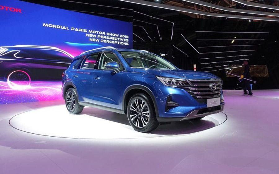 传祺GS5换代车型明日上市 预售价12-17.5万