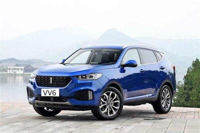 武汉WEY VV6售14.8万元起 店内现车充足