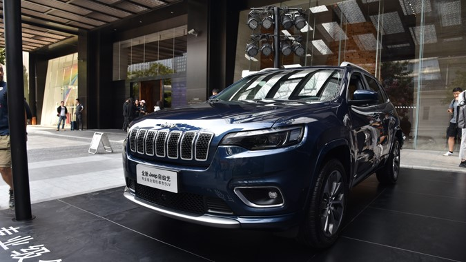 5万+的综合价值提升 实拍新款Jeep自由光