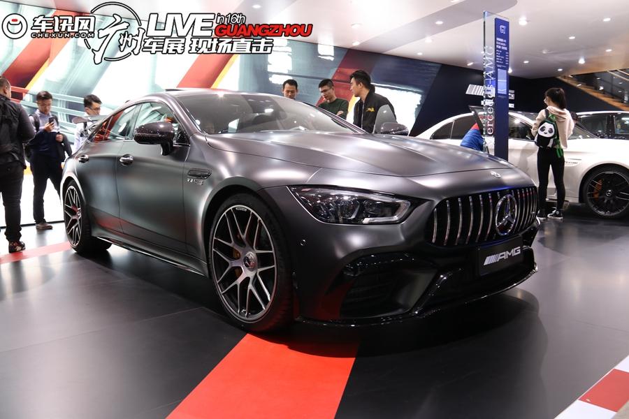 2018廣州車展:奔馳AMG GT 63 S實拍