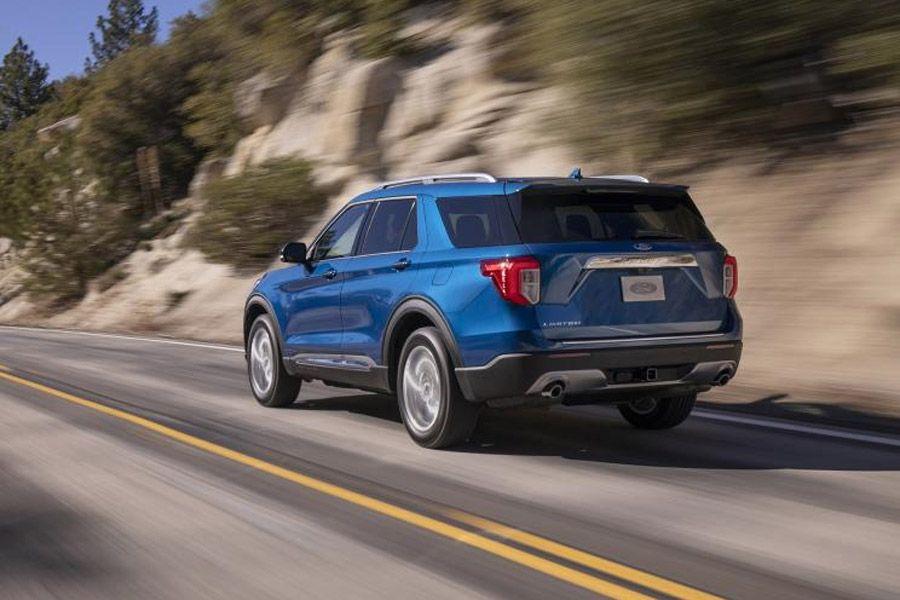 福特全新探险者官图发布 将亮相北美车展