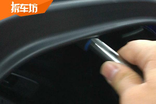 WEY VV5四驱旗舰版车窗及尾门均有防夹功能