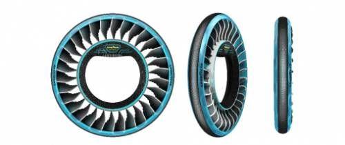 固特异AERO概念轮胎亮相日内瓦车展