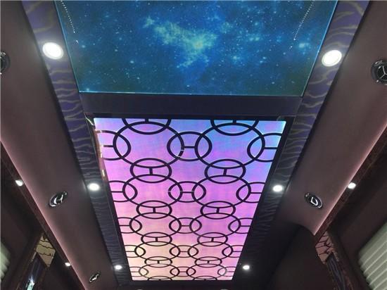 奔驰斯宾特改装紫色云锦版商务车优惠降价,