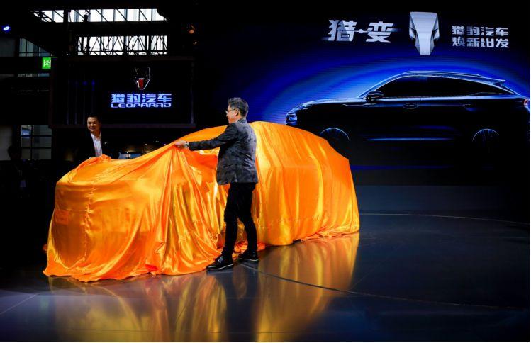 上海車展迎