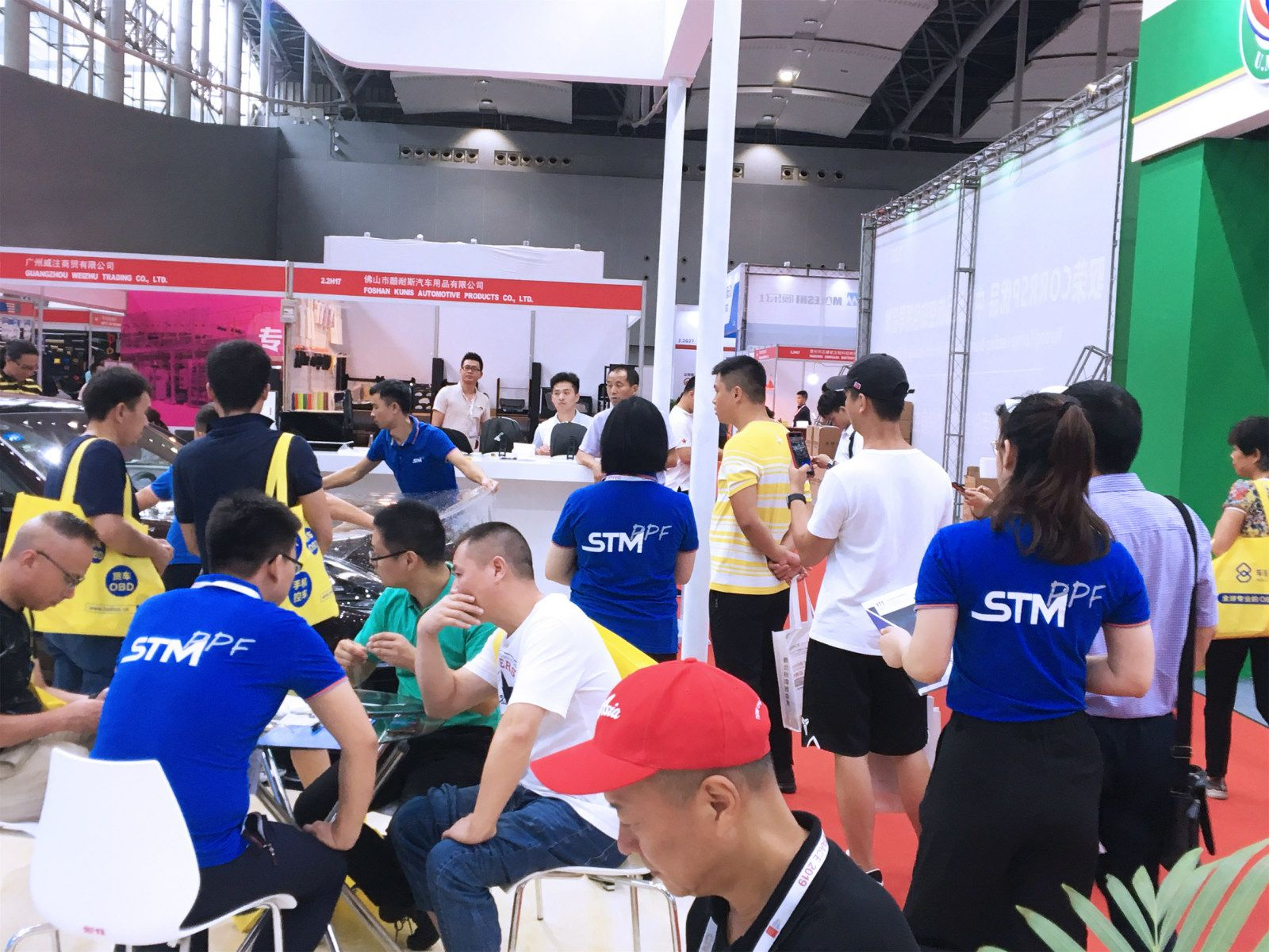 STM PPF汽车漆面膜成功参展雅森展会