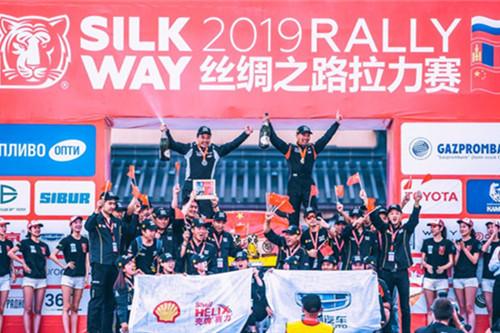 吉利殼牌車隊獲絲綢之路拉力賽境內段冠軍
