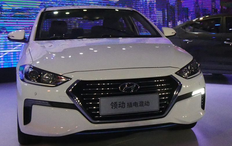 北京现代领动混动上市 补贴后售15.78万起