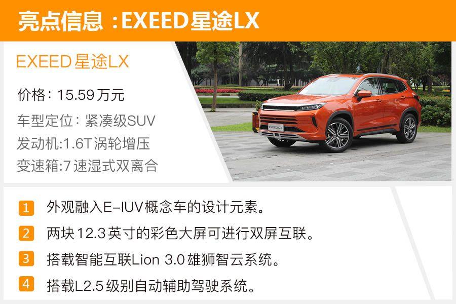 PK主流合資品牌依舊有優勢 搶先試駕EXEED星途LX