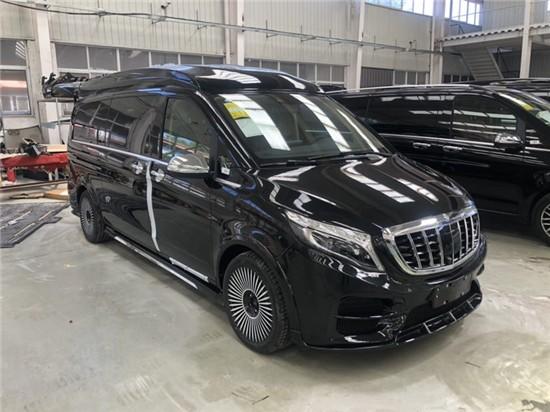 国六奔驰V260L价格高顶V260L隔屏商务车