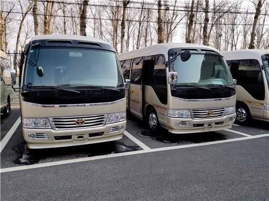 丰田考斯特11座报价 顶配11座改装优惠促销