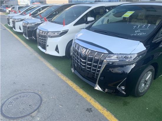 丰田埃尔法2.5L尊贵版商务车报价