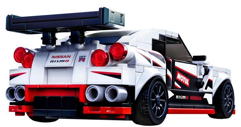 日产汽车与乐高集团联手在2020年推出GT-R NISMO拼装玩具模型